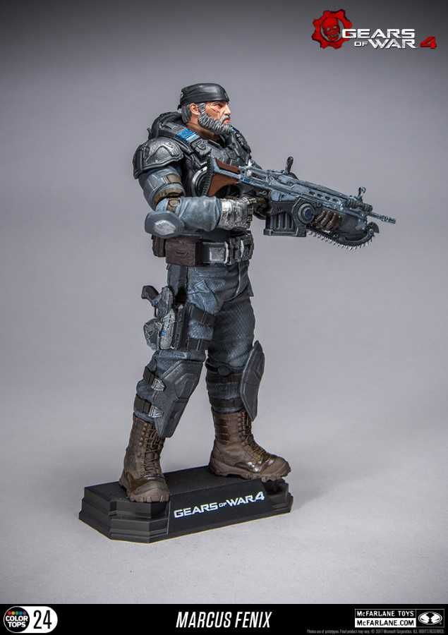 Gears Of War 4 Marcus Fenix Colour Tops Action Figure From